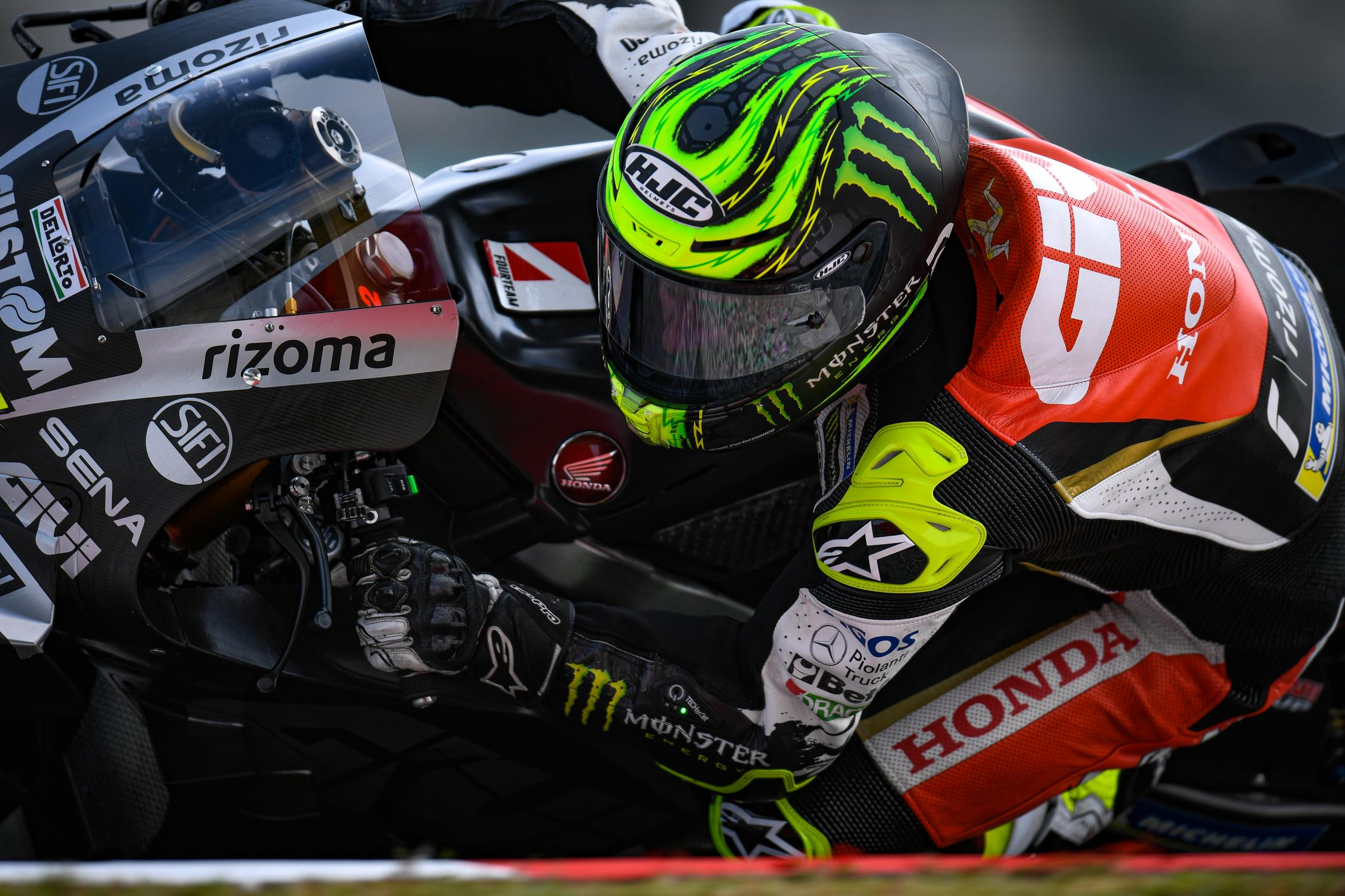 Crutchlow fastest Honda on first day in Sepang