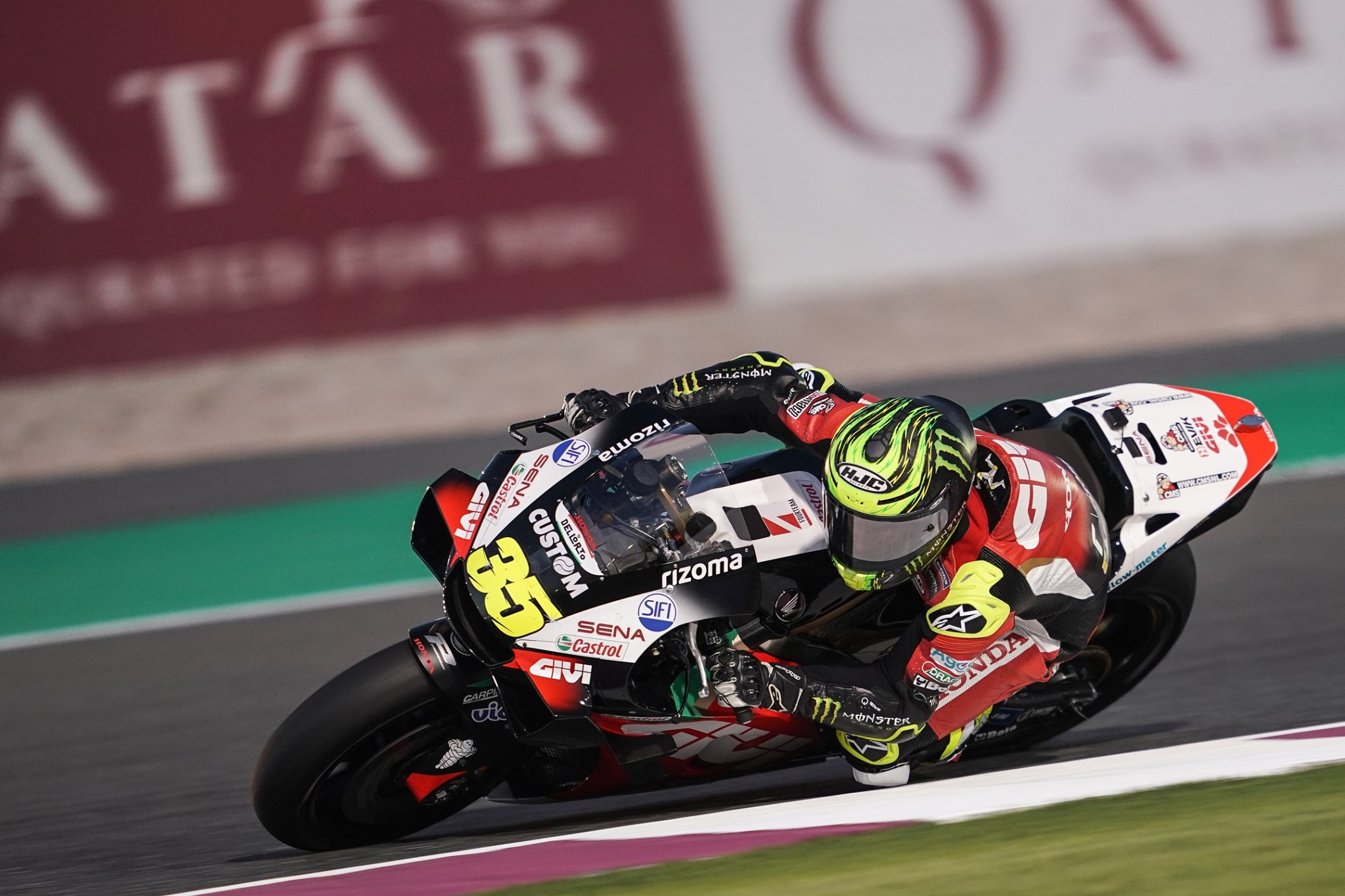 Turn two spill brings early end to 2nd day of testing for Crutchlow
