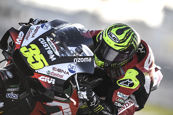 Busy first day for Crutchlow in Qatar