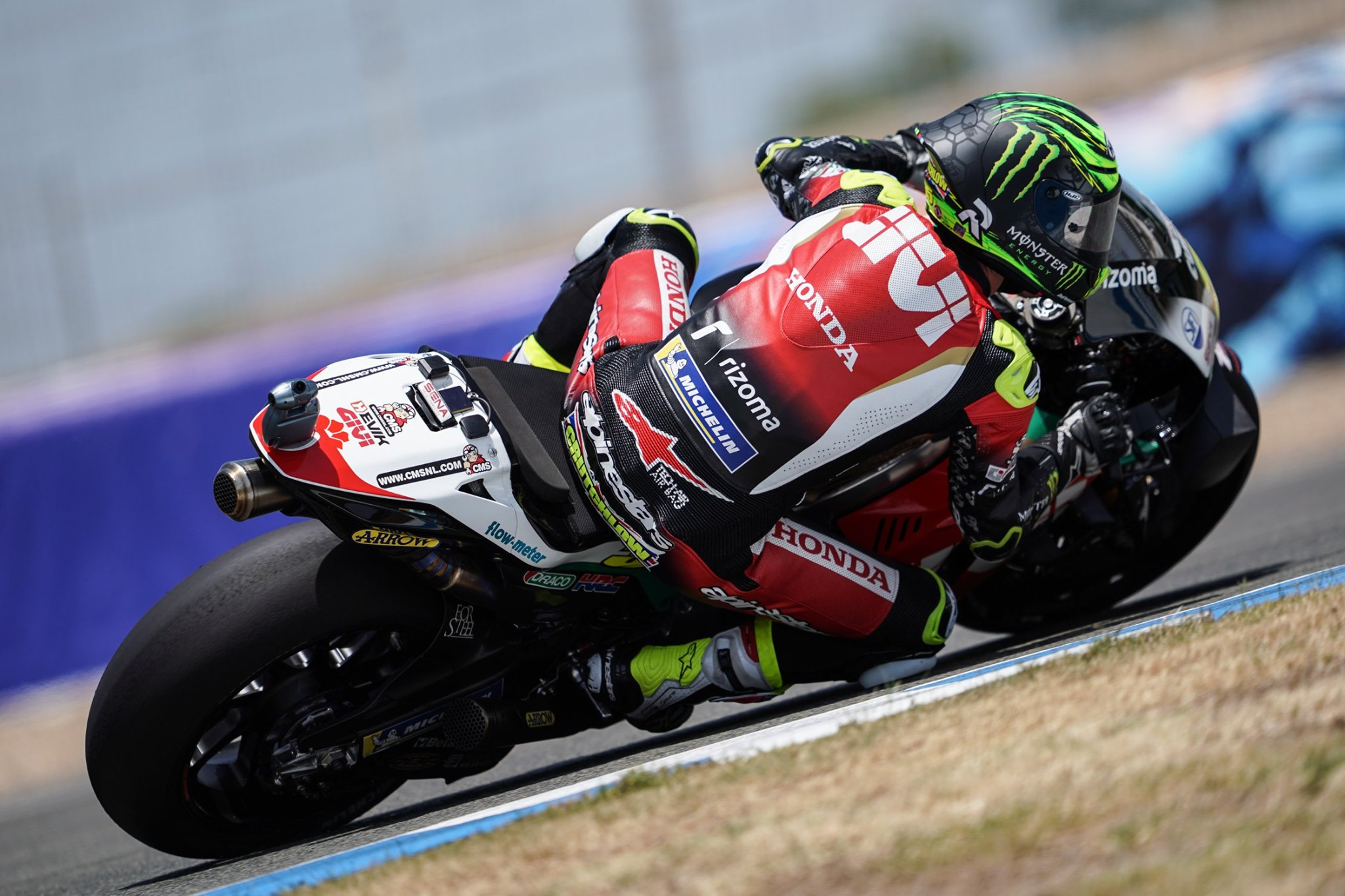 Crutchlow third overall on positive first day of MotoGP racing