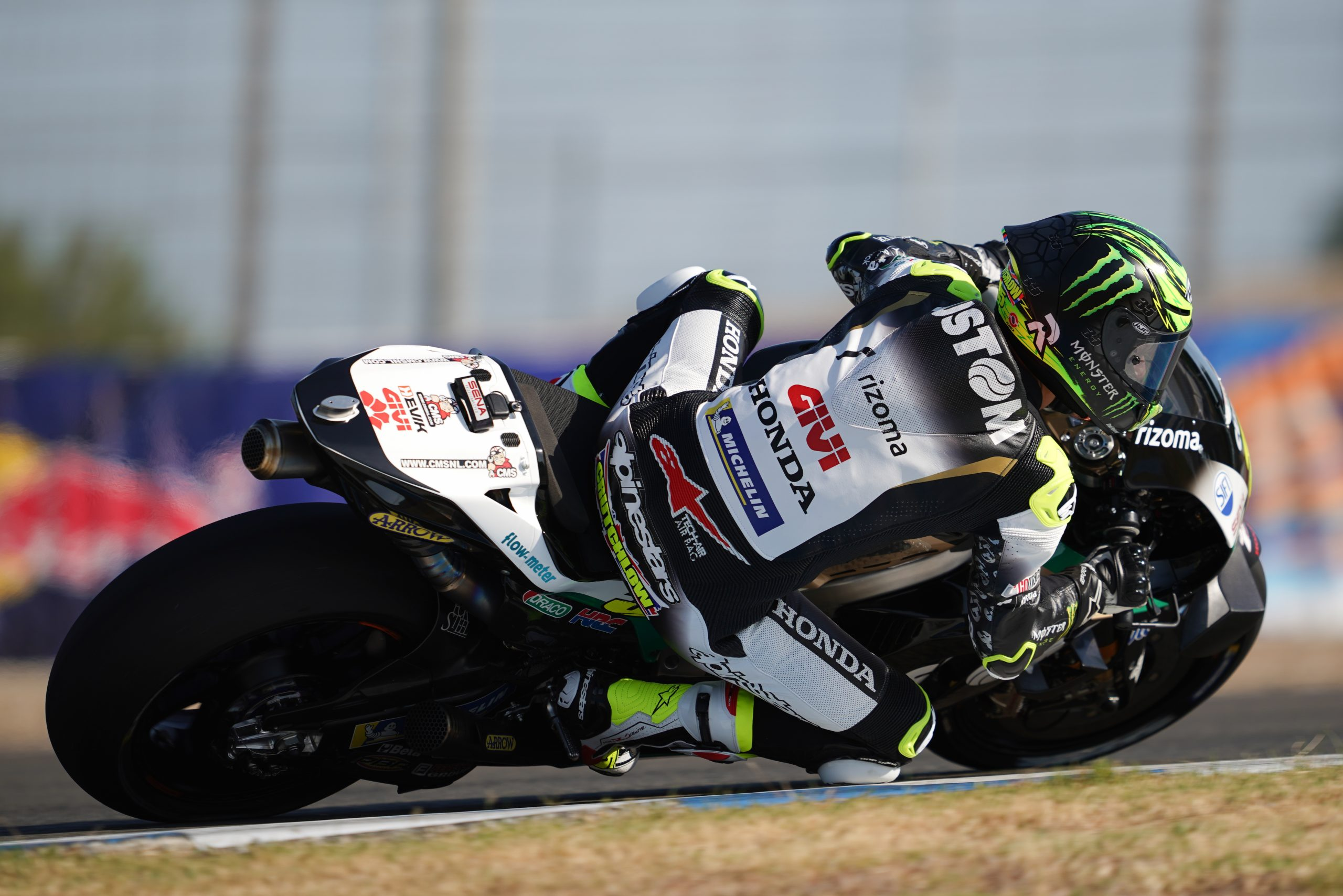 Crutchlow battles on to 5th row in Jerez